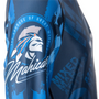 """TOP TEN Rash Guard """"Mohicans"""" Long Sleeve Blue (14143-6)"""