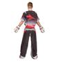 "TOP TEN Kickboxing Uniform ""FUTURE"" - Black/White ADULT (16811-91)"