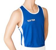 """TOP TEN Boxing Shirt """"AIBA"""" Blue (1929-6)"""