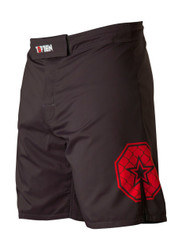 """TOP TEN MMA shorts """"Triangle"""" - Black/Red (18741-94)"""
