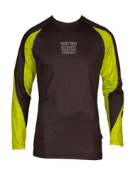 "TOP TEN MMA Rash Guard ""UFA"" Black/Yellow (14111-92)"