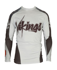 "TOP TEN MMA Rash Guard ""Vikings"" White (14131-1)"