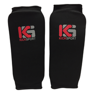 Kicksport Shin Supports Elasticated - Black (KSSGE-09)