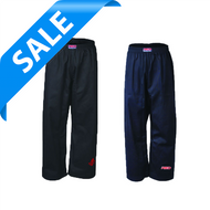 "Contact Pants BLACK ""Clearance"" Red Martial Arts - Children 140cm - 150cm (KSCPBC-09)"