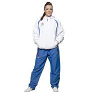 HAYASHI Fitness Suit Premium - ADULT - White/Blue (887-4)