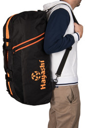 Hayashi Sportbag/Backpack Combo Black/Orange Large (804-9305)