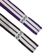 Belts - Purple/Brown 2 White Stripes (KSCB2WS)