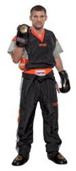 "PQ Mesh Uniform ""Neon Ltd"" Black/Orange (1681-93)"