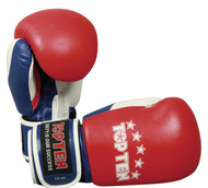 "TOP TEN Boxing Gloves ""Fight"" Red/White/Blue 10oz (2066-41)"