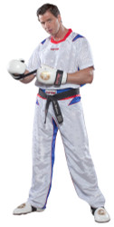 """PQ Mesh Uniform """"Neon Ltd"""" White/Blue (1682-16A)"""