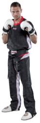"""PQ Mesh Uniform """"Neon Ltd"""" Black/White Children (1682-91C)"""