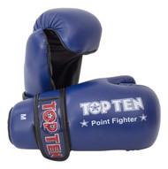 TOP TEN Pointfighter Gloves Blue