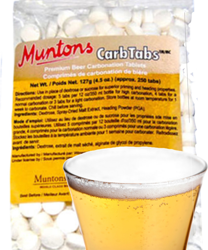 Mutons CarbTabs carbonate any brew, any fermeht