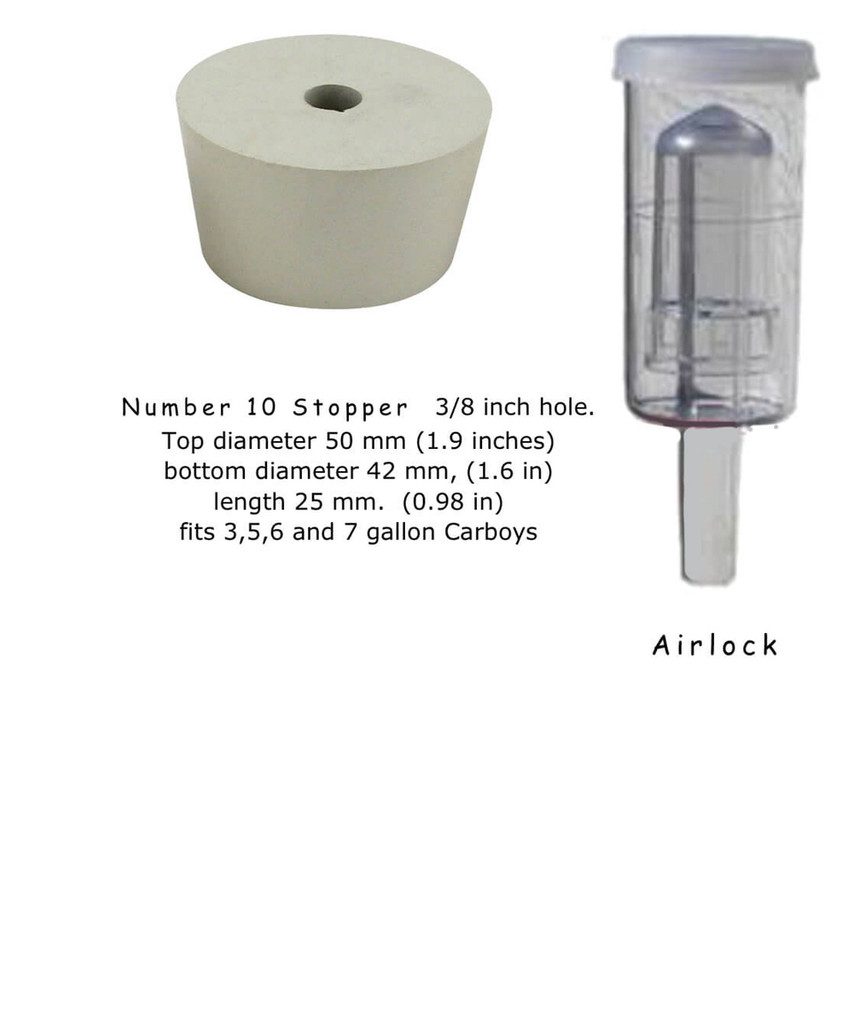 Bubbler style Airlock
