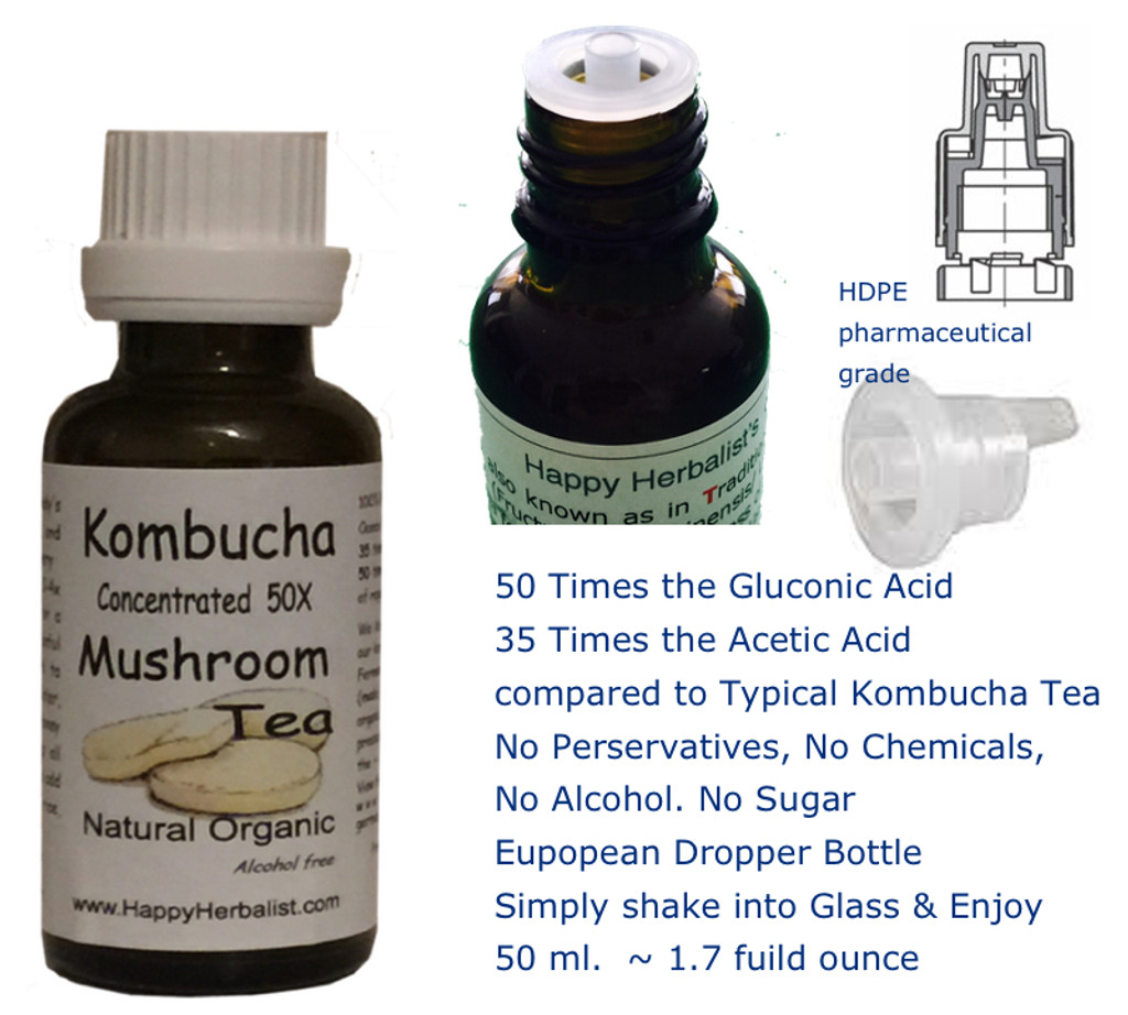 Kombucha Extract Alcohol Free, Sugar Free, No Chemicals added. Just pure kombucha.
