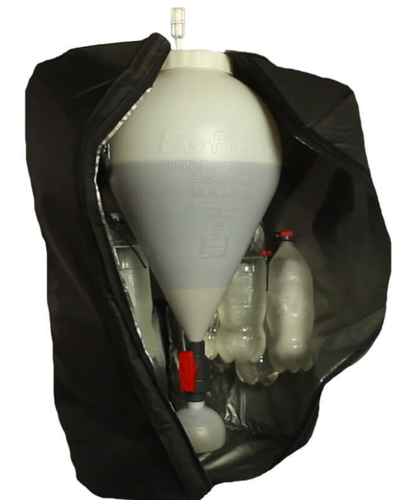 Optional Fast Ferment Cooling / Heating Jacket