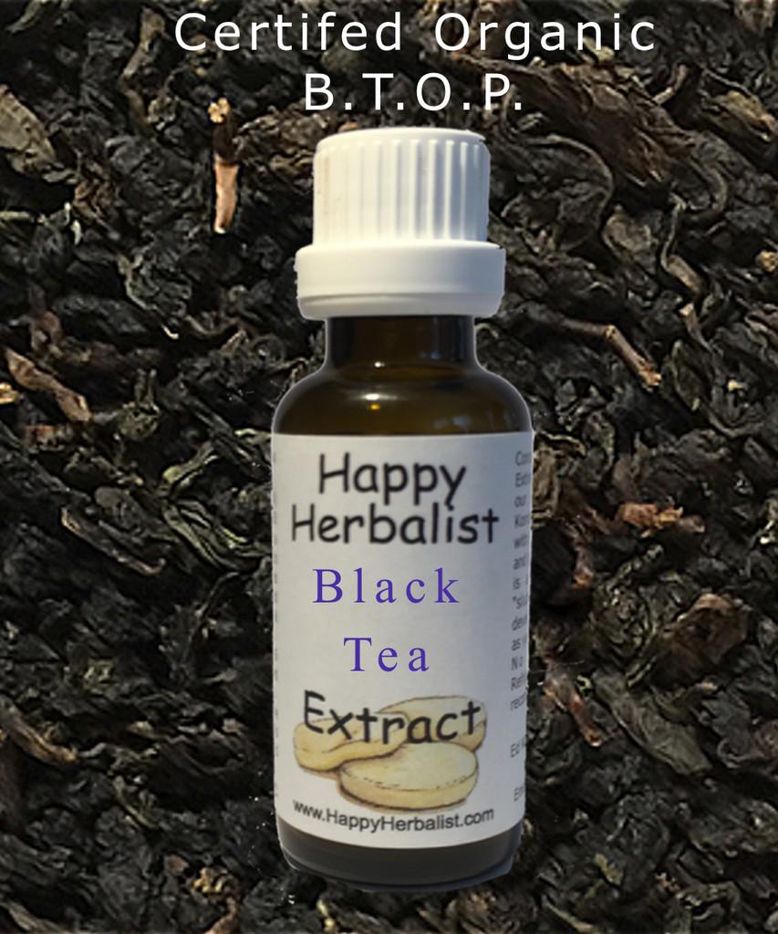 Black Tea Alcohol Free Extract