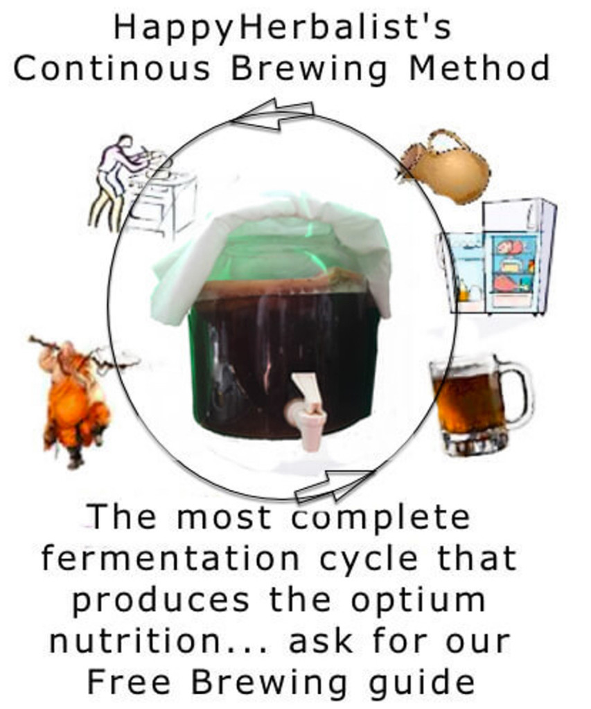 Continuous Brewing Method produces the best and healthiest kombucha ever. Our Booklet has lots of ideas on brewing healthy batches to fit your life and lifestyle.