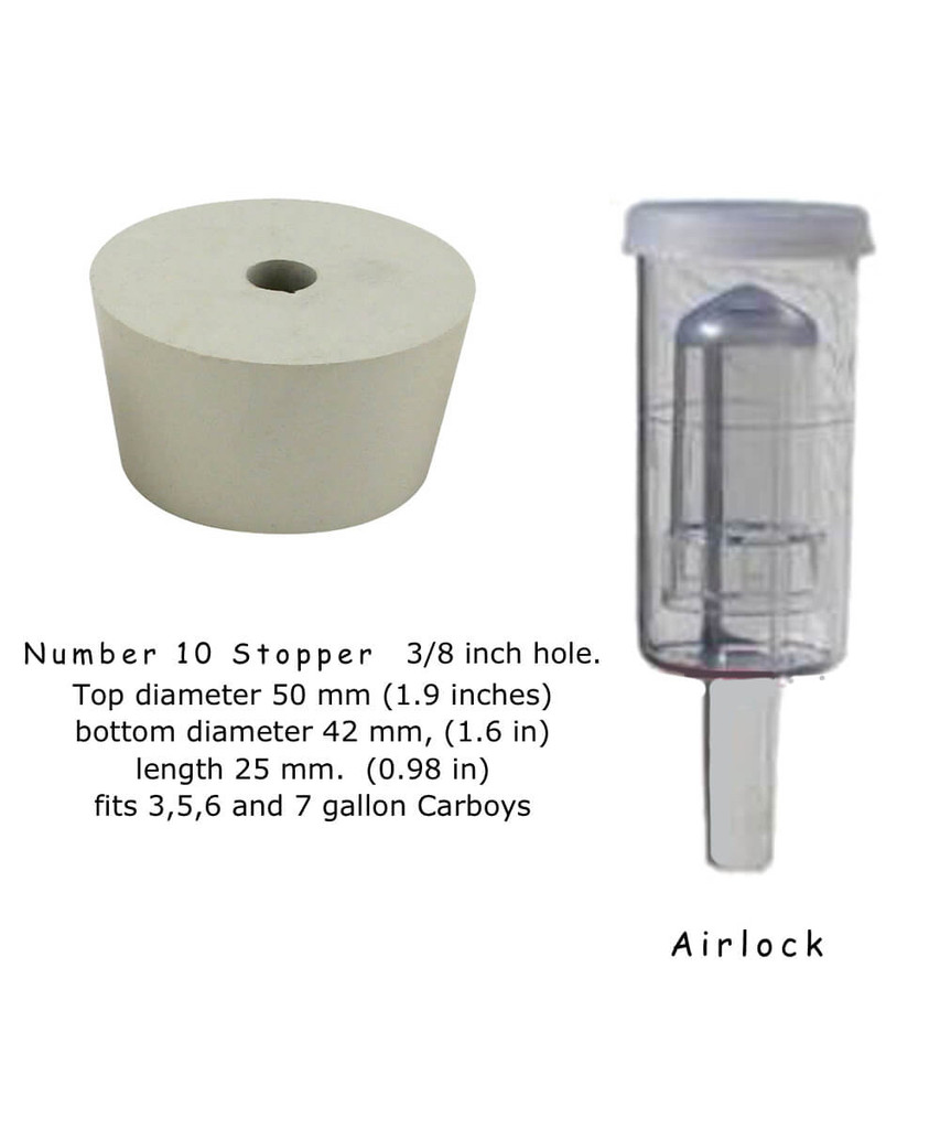 Airlock and  cork