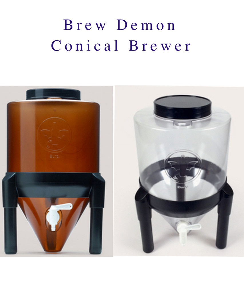 Great for aerobic or anaerobic ferments. First or Second Ferments. Easy to recycle and save yeasts for the next batch, while keeping the Primary Brew sediment free.  Clear for easy checking on the progress of your brew.