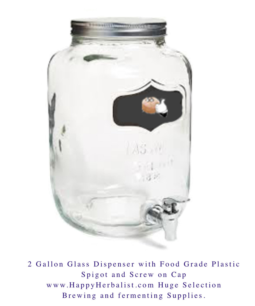 2 Gallon Kombucha Brewer. make 24 to 48 ounces of Fresh Kombucha daily. Save and keep fresh and carbonated in our uKeg