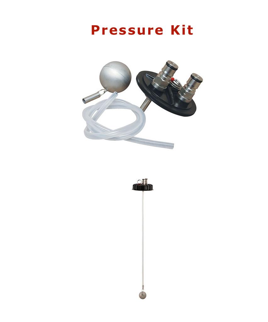 Fermentasaurus's Optional pressure kit Included.