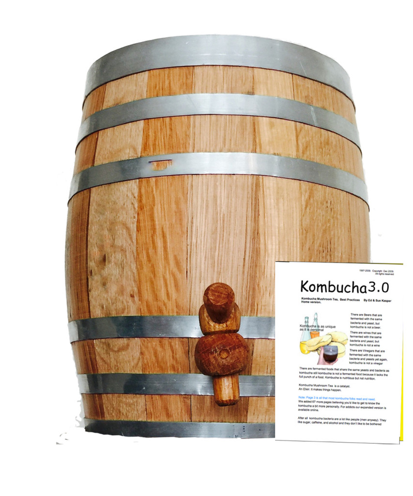 Kombucha Oak Barrel Brewing produces the best most mellow brews