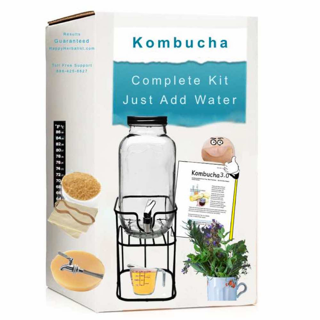 100 % Organic and Complete Kombucha Brewing  kits. Everything for the home brewer. More choice, more options, more value. Guaranteed Results.