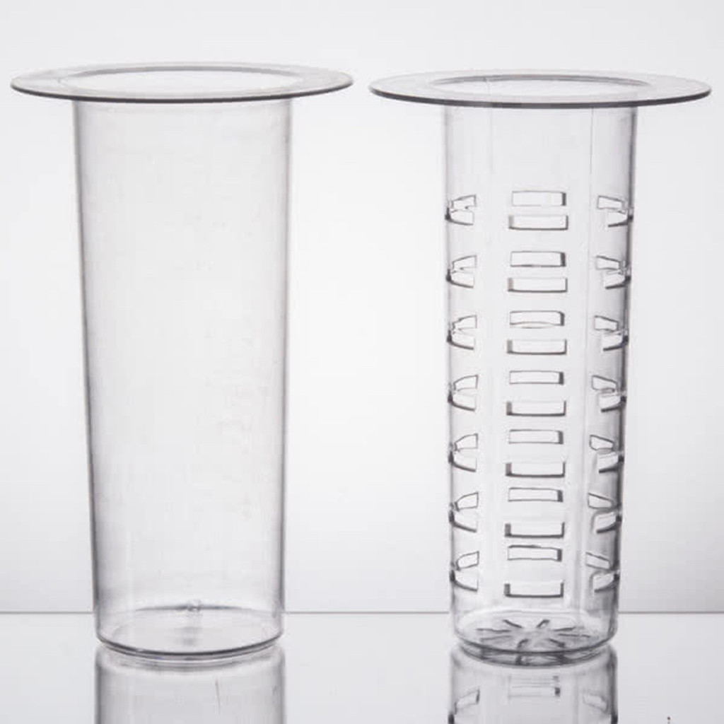 2 Piece Polycarbonate Infuser Set. For 2, 3 and 5 gallon Glass dispensers