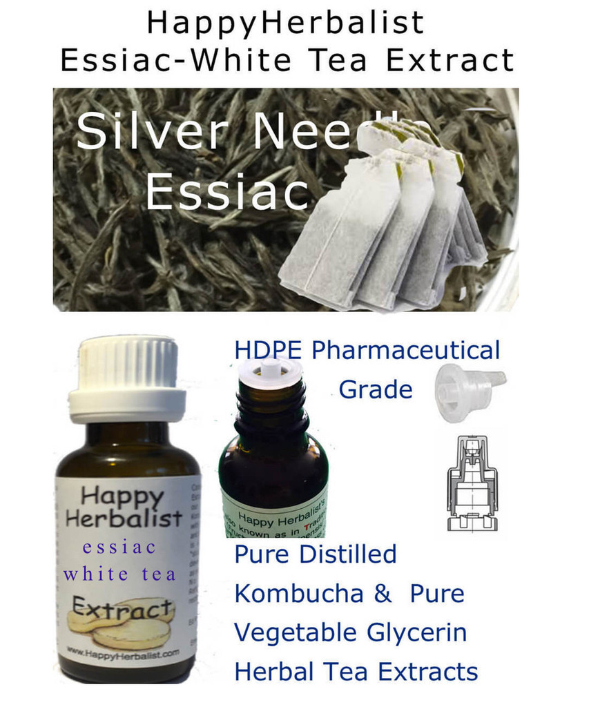 Certified Organic essiac tea extract  by HappyHerbalist.com