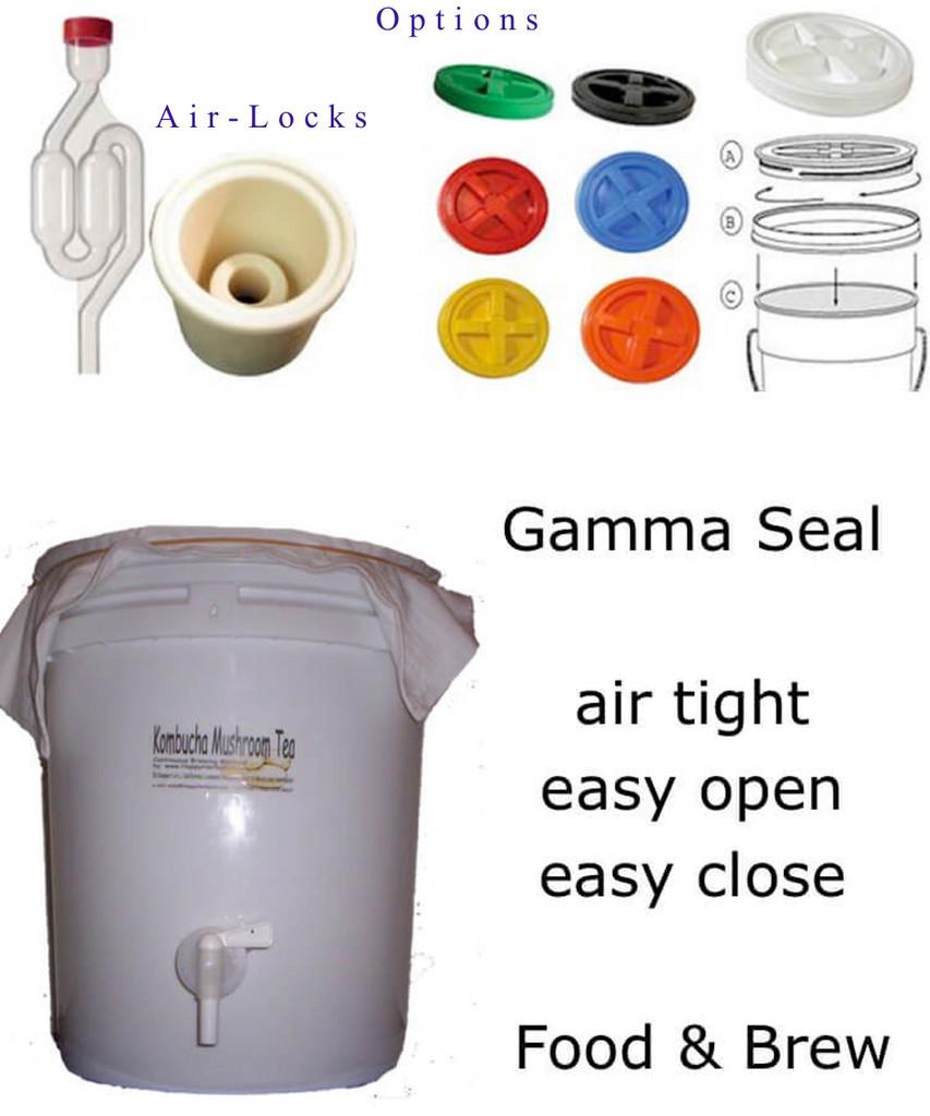 Optional Air Lock and Gamma Seal Air Tight SEals