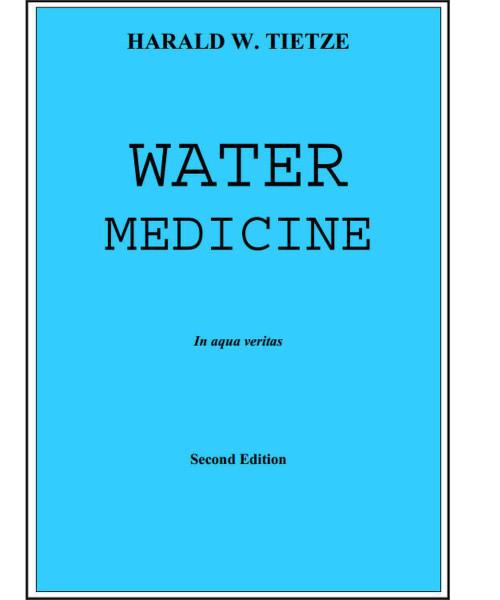 Water Medicine by Harald W. Tietze