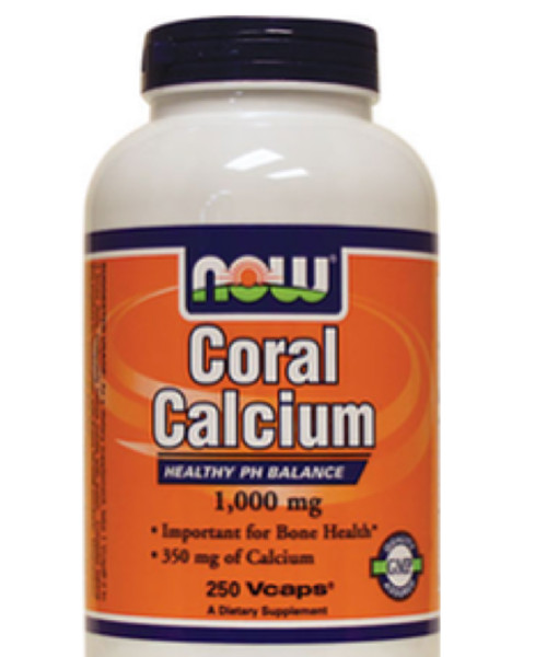 Coral Calcium 1,000 mg +50 Day Supply NOW Brand