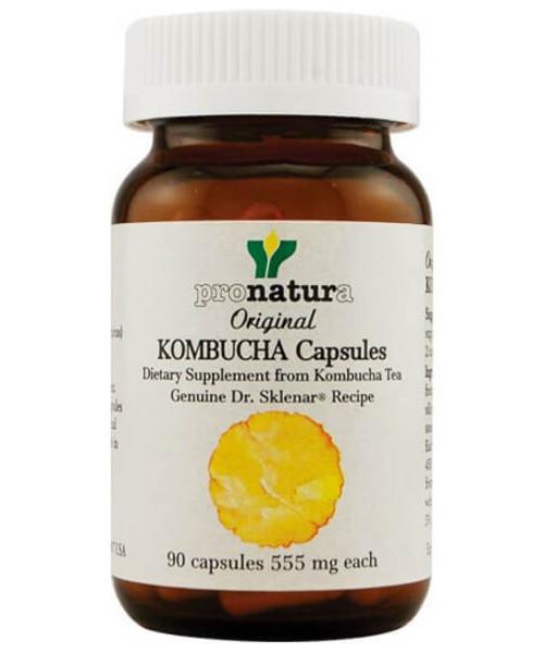 Safe Effective Kombucha Tea in Capsules