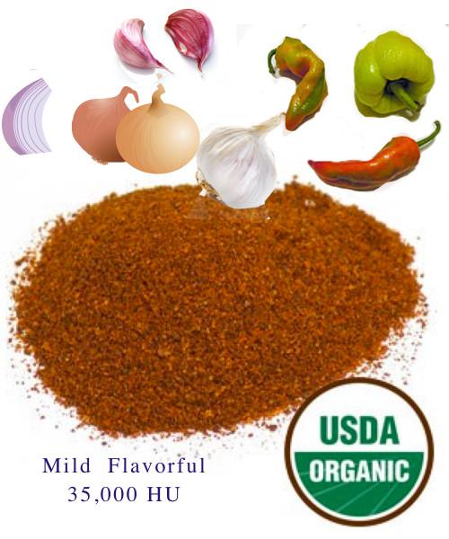 Certified Organic Salt Free Chili Blend