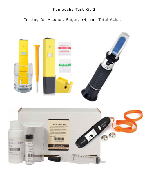 Easy Home Testing equipment for Alcohol, Sugar, pH, Total Acids. Affordable  and on sale now.