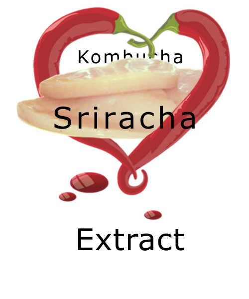 Legendary Kombucha Elixir  Extracted Sriracha Hot Pepper