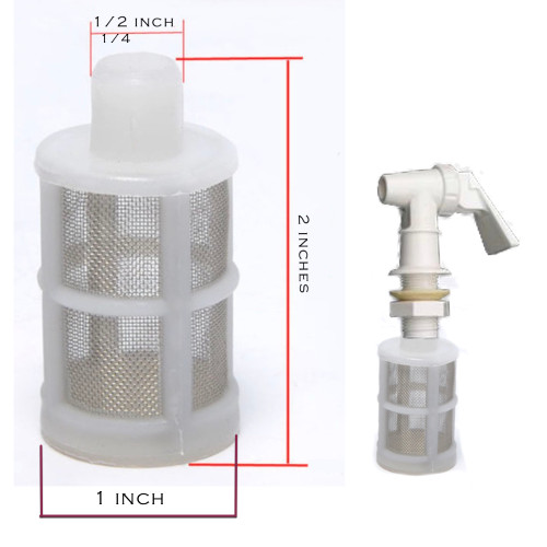 Kombucha Brewing FIlter removes yeast strands and sediment making for a clean smooth pour