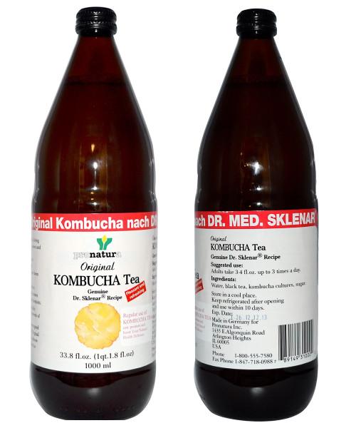 Original Kombucha Tea from Germany