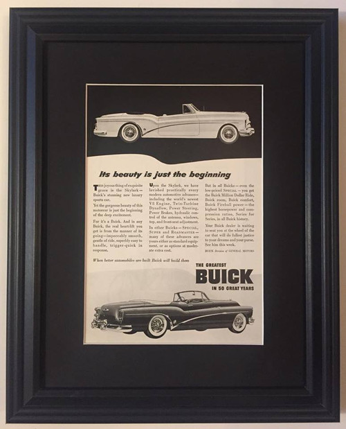 1953 53 Buick Skylark Convertible Vintage Ad  Car, cars, auto, autos, automobile, automobiles, horseless, carriage, carriages, motor, motorcar, motorcars, vehicle, vehicles, convertible, fast, back, backs, fastback, fastbacks, rag, ragtop, ragtops, sport, sports, hard, hardtop, hardtops, hatch, hatchback, hatchbacks, notch, notchback, notchbacks, station, wagon, wagons, town, woody, woodie, compact, coupe, coupes, limousine, limousines, sedan, sedans, muscle, stock, modified, hotrod, hotrods, hot, rod, rods, jalopy, junker, cream, puff, puffs, phaeton, phaetons, roadster, roadsters, tin lizzie, touring, subcompact, subcompacts, passenger, classic, historic, historical, antique, vintage, old, passenger