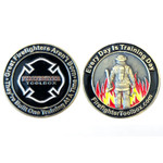 Firefighter Toolbox Challenge Coin