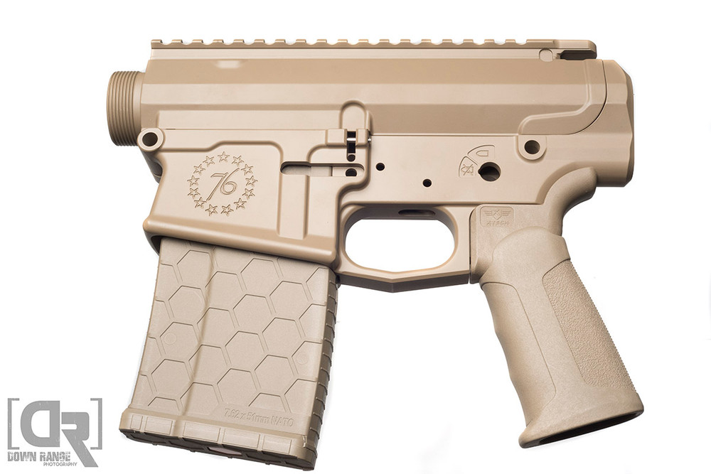 SENTRY's FDE color matches very well with other FDE colors on the market