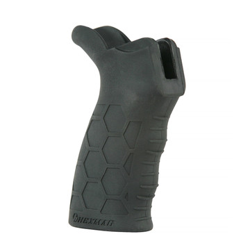 Front view showing the slight finger grooves and raised gripping area like the Series 2 magazines.