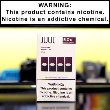 Juul Tobacco Pods (4 pack)