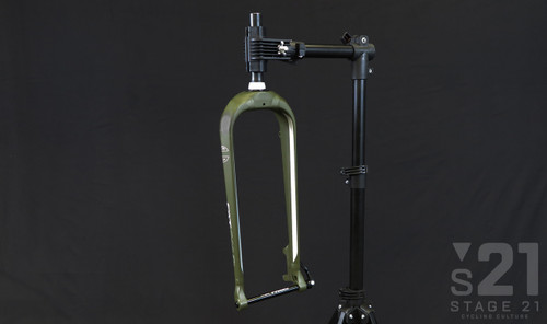 Fat CAAD Rigid Disc Fork - Matte Green
