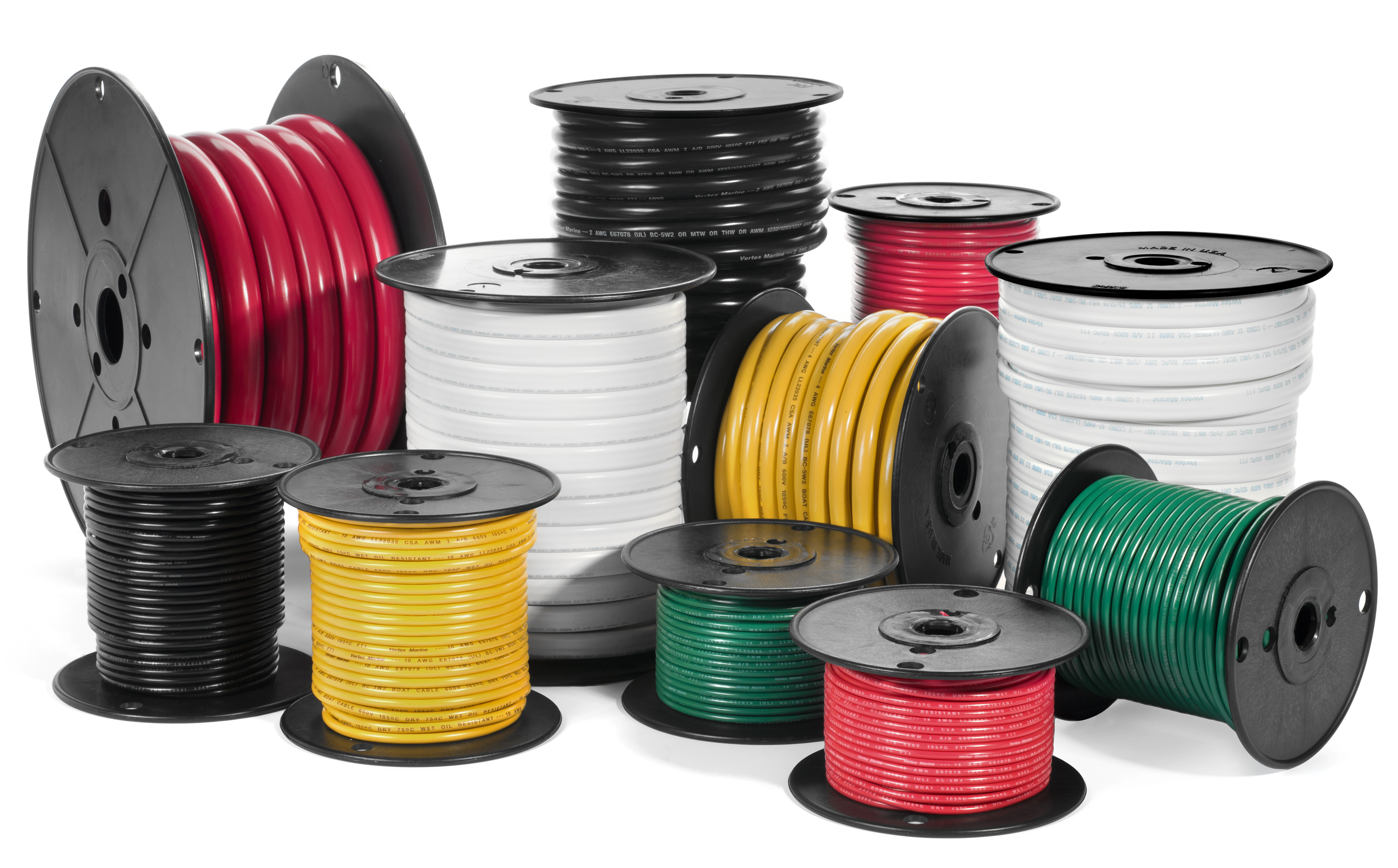 Marine Cables & Accessories - 8-4/0 Gauge UL Approved Marine ...