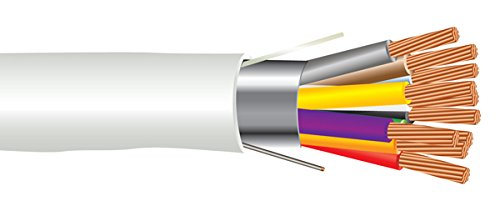 18 AWG 10/C Str CMP Plenum Rated Shielded Sound & Security Cable - 1000 Feet