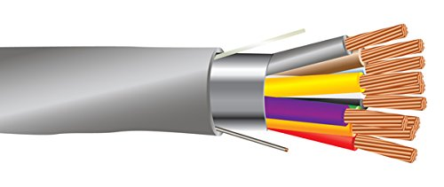 18 AWG 10/C Str CMR Riser Rated Shielded Sound & Security Cable - 1000 Feet