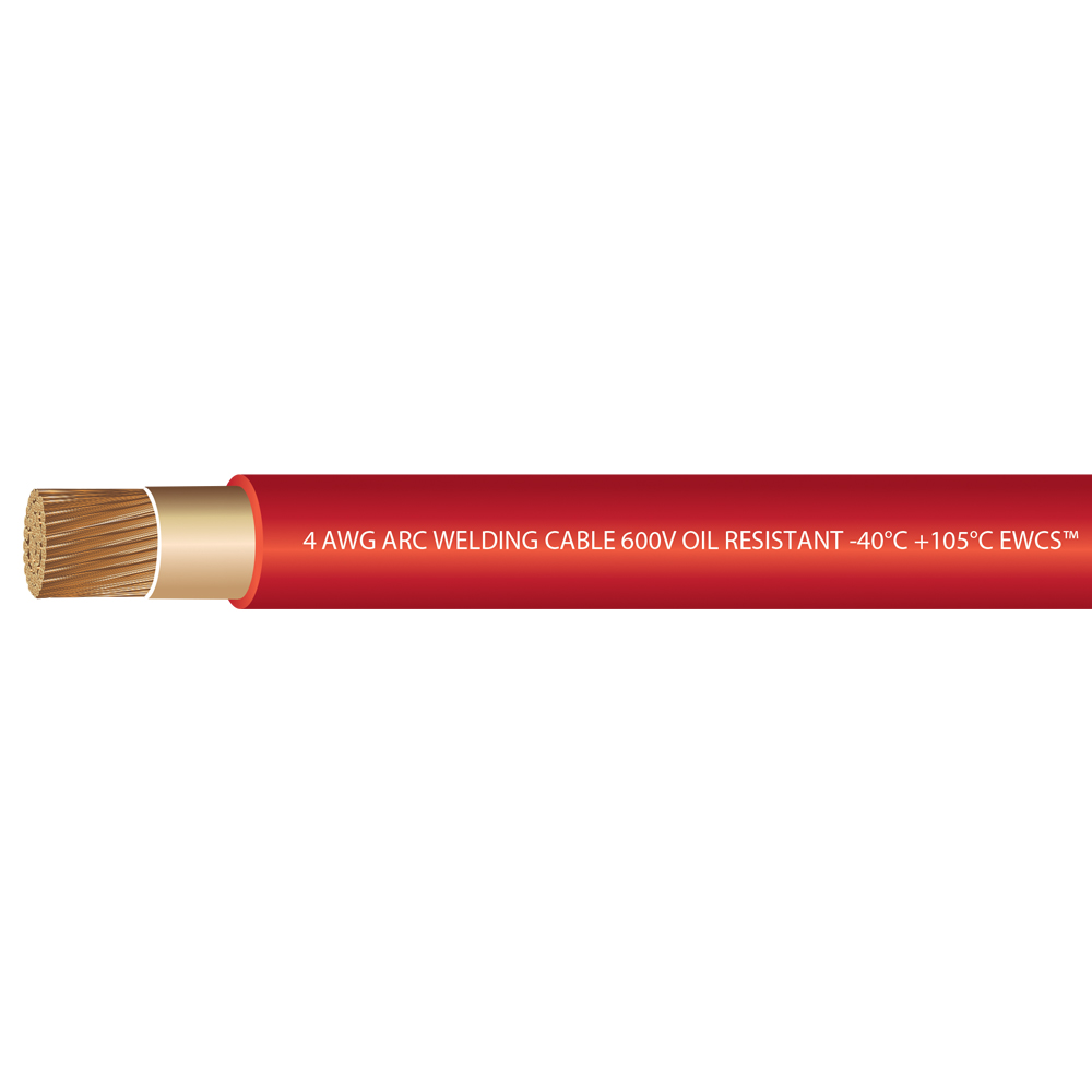 4 Gauge Premium Extra Flexible Welding Cable - All Colors! - All ...