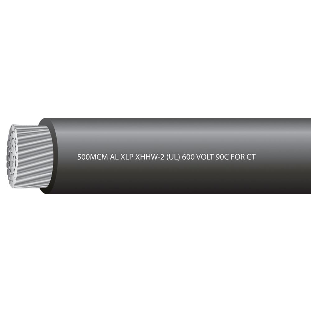 500MCM Aluminum XHHW-2 600 Volts